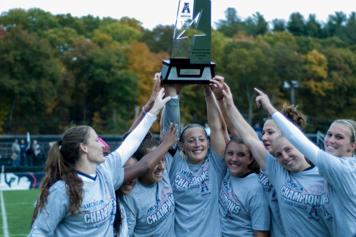 The American Athletic Conference regular season champions are closing in on the conference tournament championship, as well.