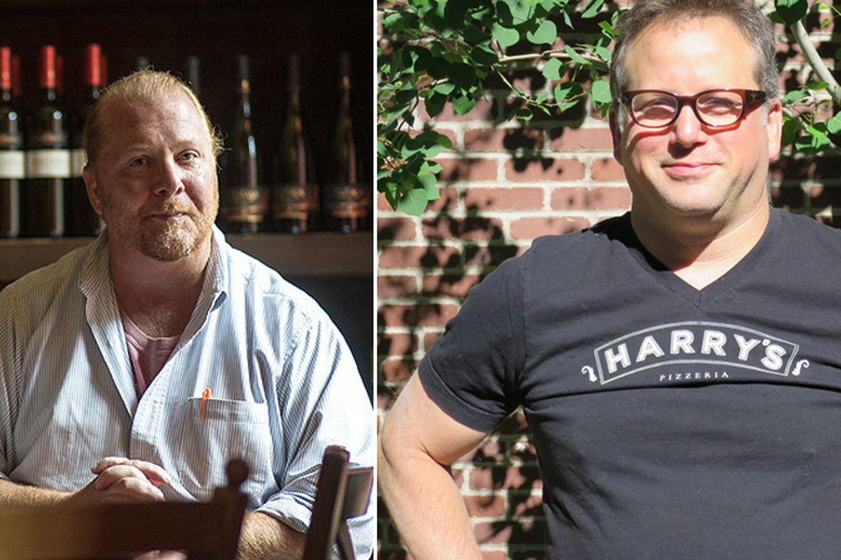 Chefs Mario Batali & Paul Kahan