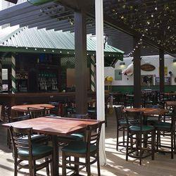 The patio at Carlos'n Charlie's.