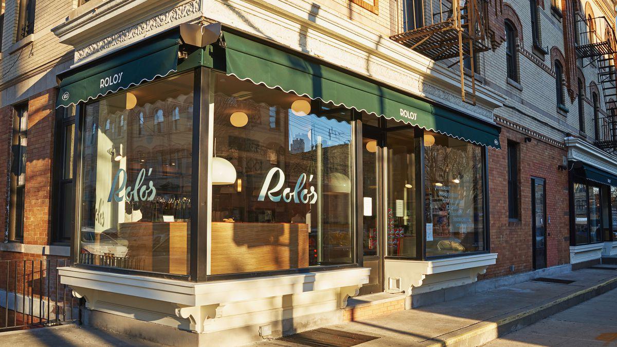 The exterior of the new Ridgewood, Queens restaurant Rolo's