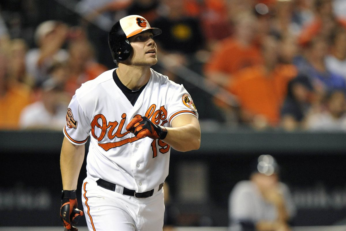 There is nothing in this article about Chris Davis, but they didn't have any pictures of Aubrey Huff or Melvin Mora as Orioles.
