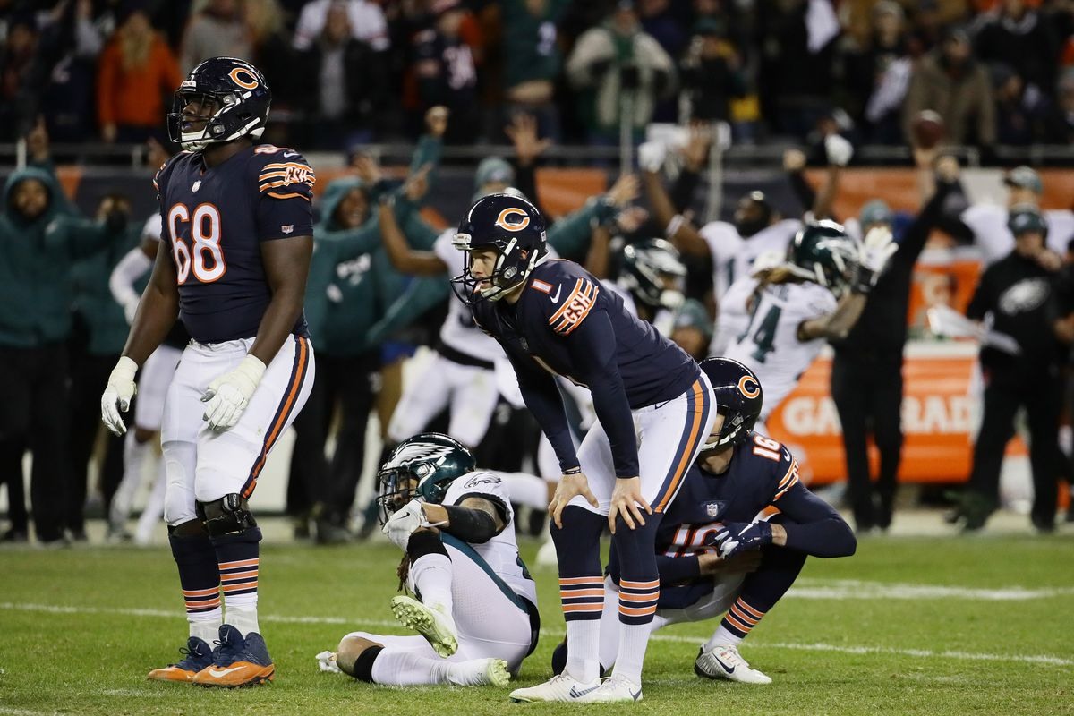 Whoever wins Bears' kicking job will be a nervous wreck by opener