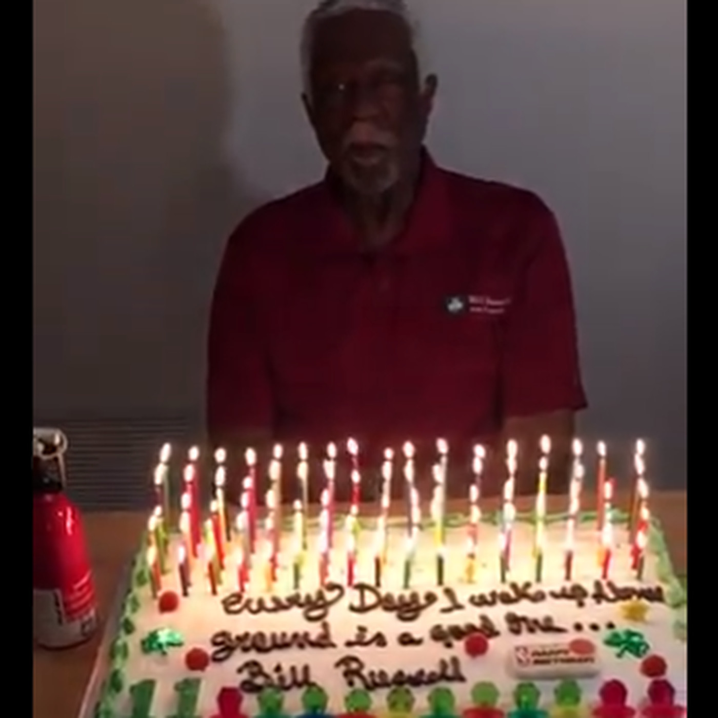 Bill Russell Celebrated His 85th Birthday With Cake For Breakfast And 11 Ring Pops
