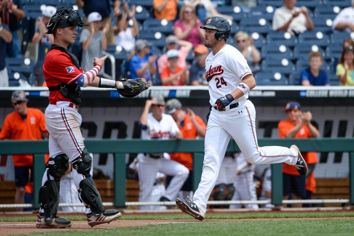 NCAA Baseball: College World Series-Auburn vs Louisville