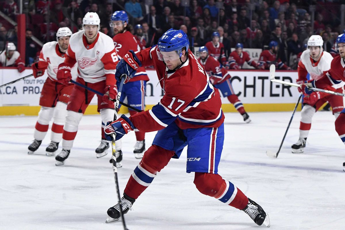 NHL: Detroit Red Wings at Montreal Canadiens