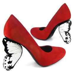 "Alberto Guardiani's ""flutterby"" shoe from 2012."