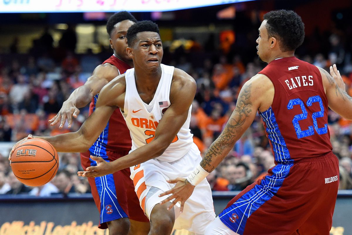 Syracuse Basketball Tyus Battle Downplays Injury Says He Won T