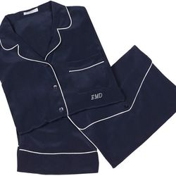 """<b>Equipment</b> pajamas ($418) with monogramming ($25) available exclusively at <a href=""""http://la.racked.com/archives/2012/08/20/omg_equipment_is_coming_to_melrose_place_this_fall.php""""target=""""_blank"""">Equipment LA</a> (8459 Melrose Place)."""