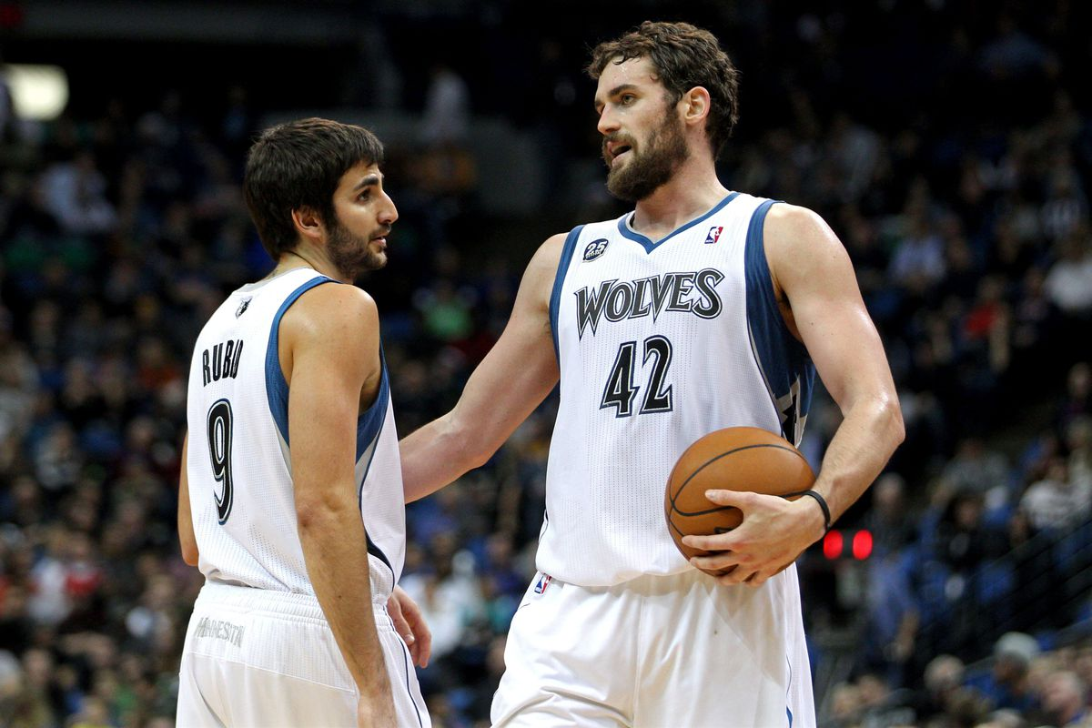 wholesale dealer 212a9 4f1ad Ricky Rubio questions Kevin Love's leadership abilities ...