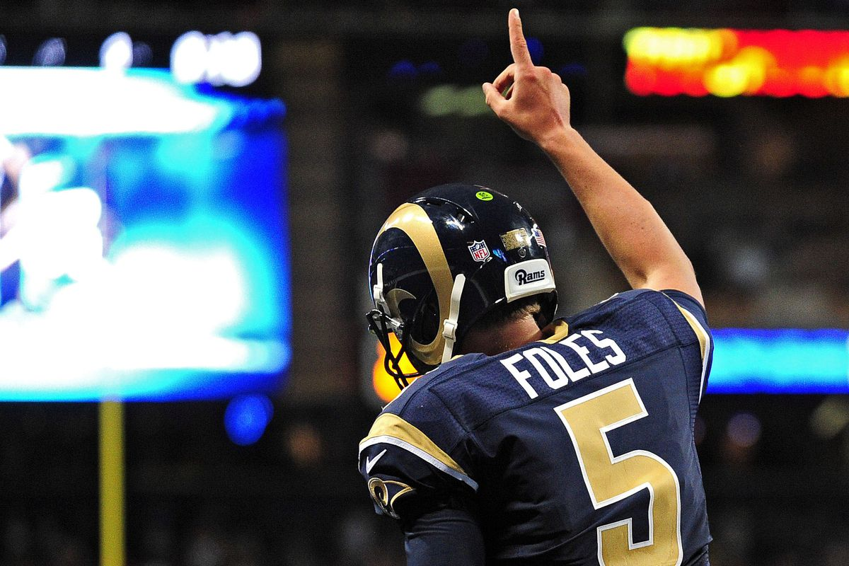 That's right Mr. Foles, we are number 1.