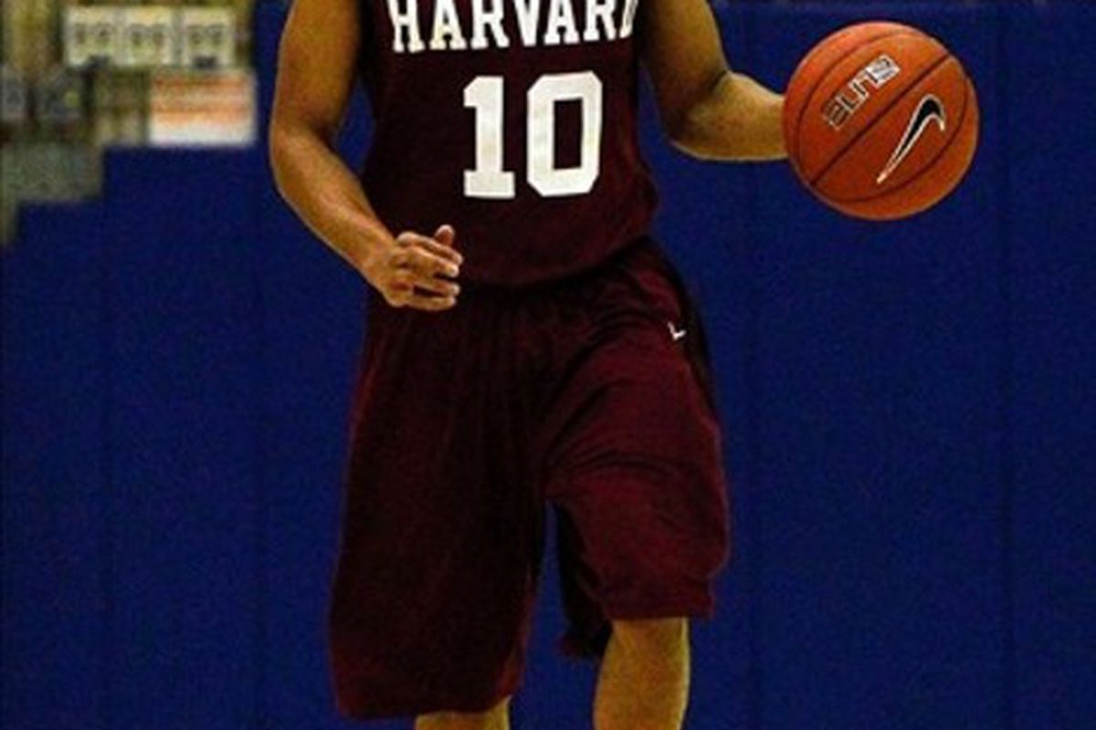My Cinderella pick? Harvard. Why? Because I like the idea of them beating Vanderbilt early, that's why.