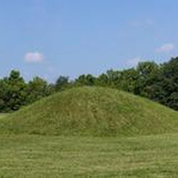 The burial grounds at Mound City, at the Hopewell Culture National Historical Park near Chillicothe, Ohio, are some of the most accessible of the Hopewell civilization.