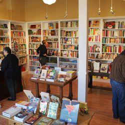 Peek inside Noe Valley's Omnivore Books. Photo by Susan Fleming.
