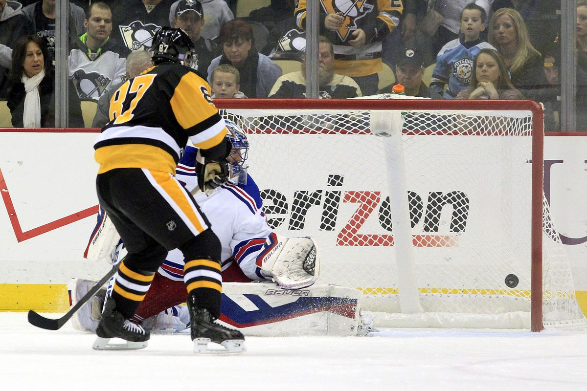 The Penguins proved on Saturday night that a shootout isn't over until the refs say it is.  Also: make the goals without a doubt.