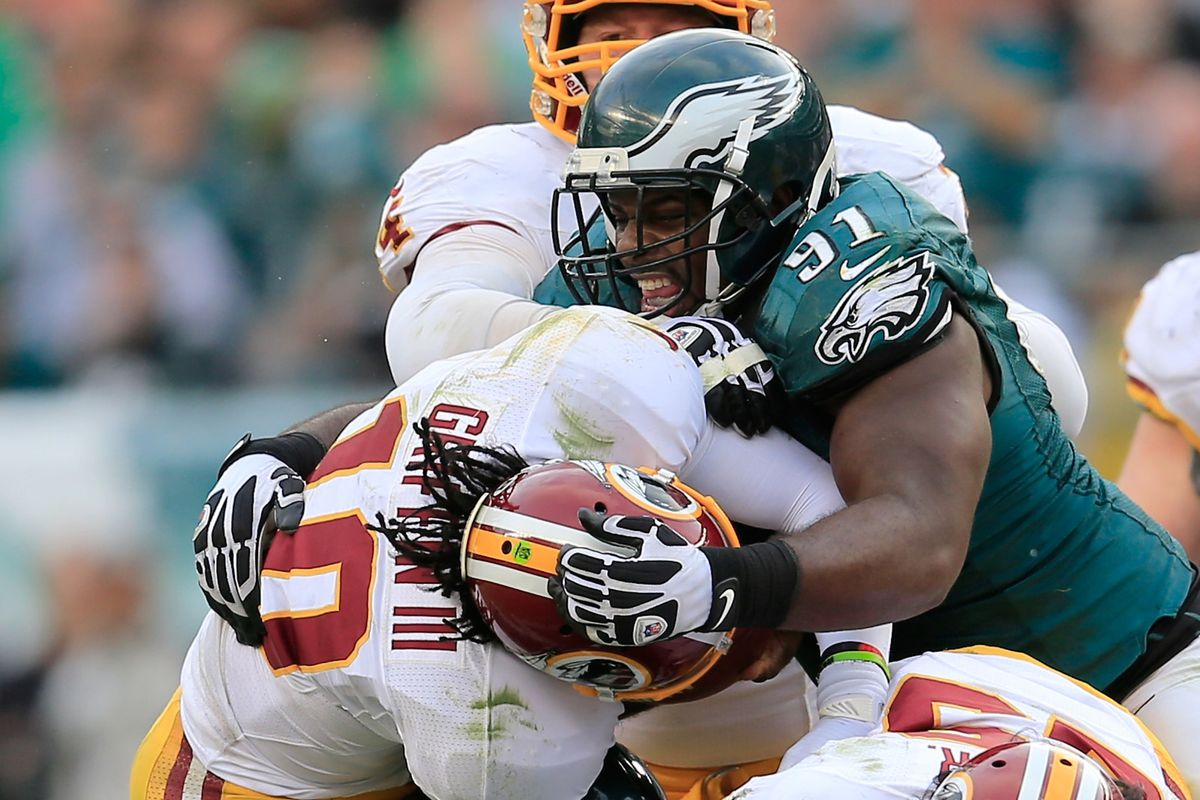 Fletcher Cox Fined $7 875 For Late Hit on Robert Griffin III