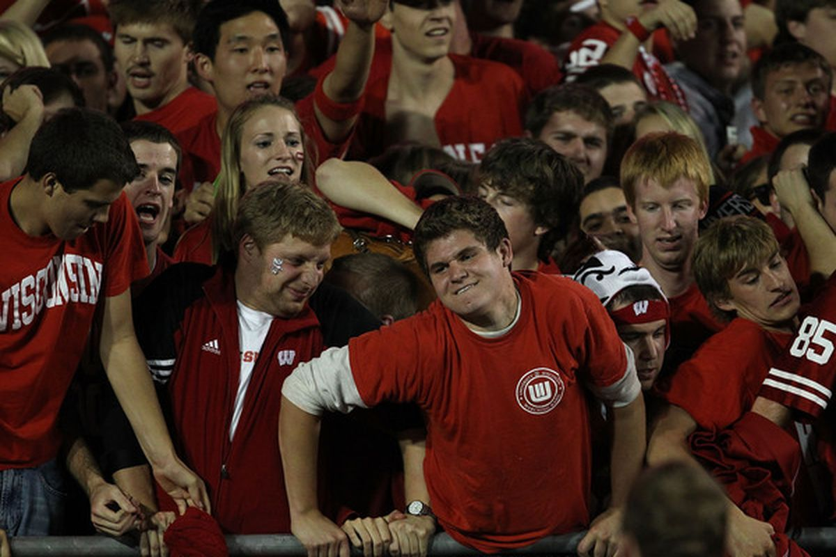Badger fans have a rare opportunity to show their class Saturday.