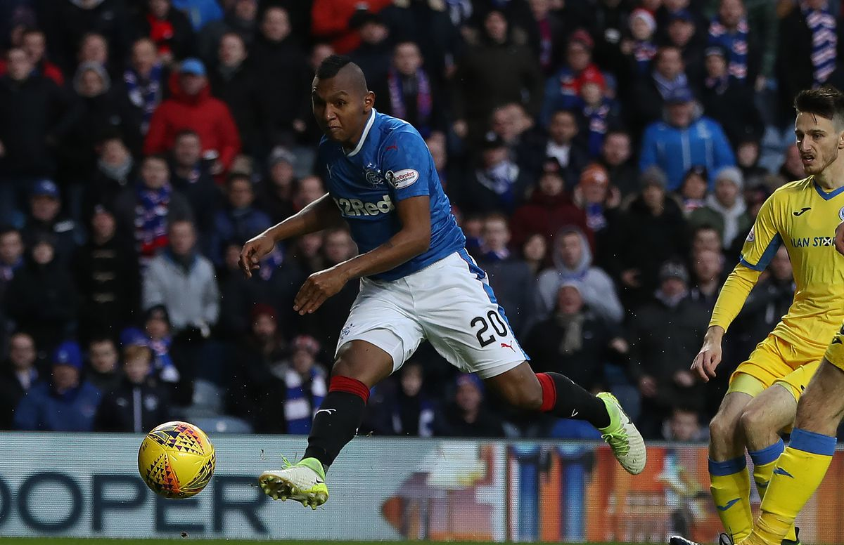 Rangers v St Johnstone - Ladbrokes Scottish Premiership