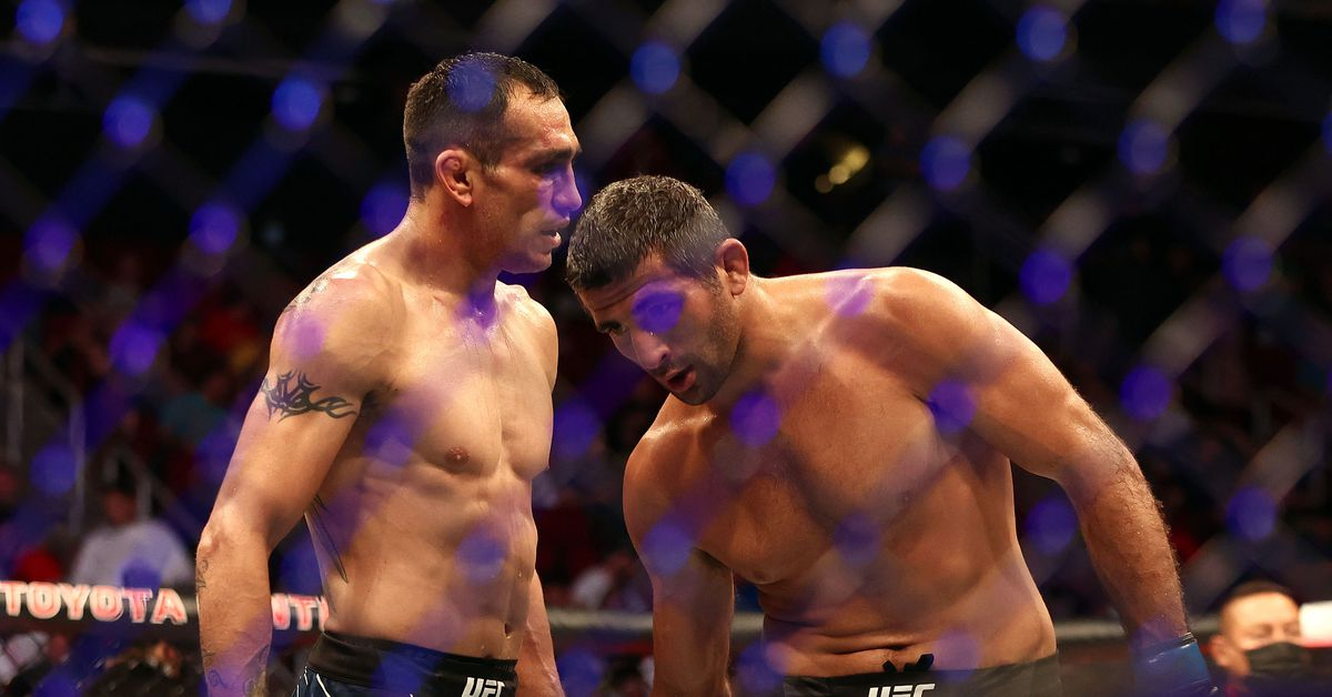 Dana White wonders if in-cage battles have caught up with Tony Ferguson after UFC 262 loss: 'It's definitely hit Tony'