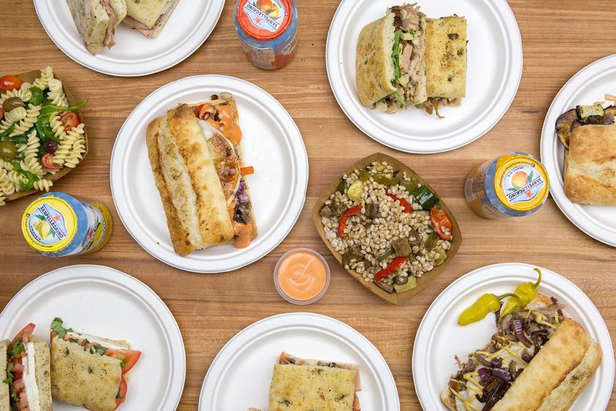 Porchetta republic table sandwiches salads sides