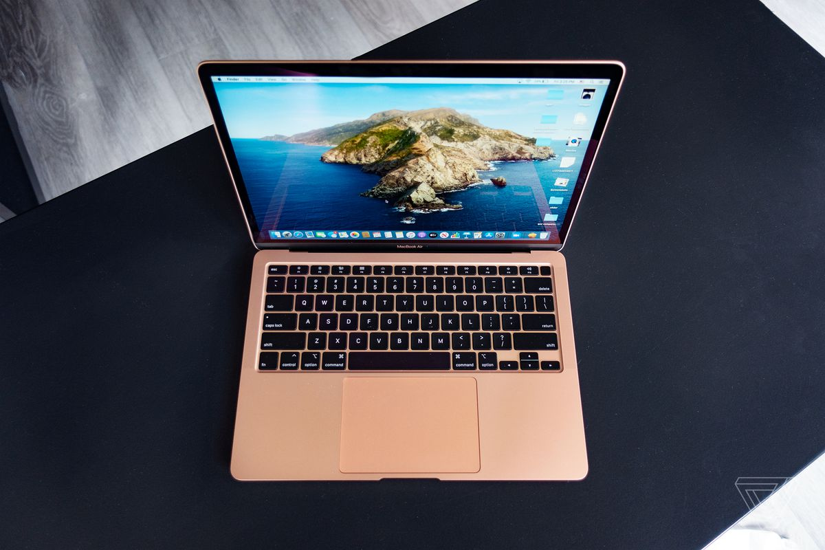 Apple Macbook Air 2020 Review The Best Mac For Most People The Verge