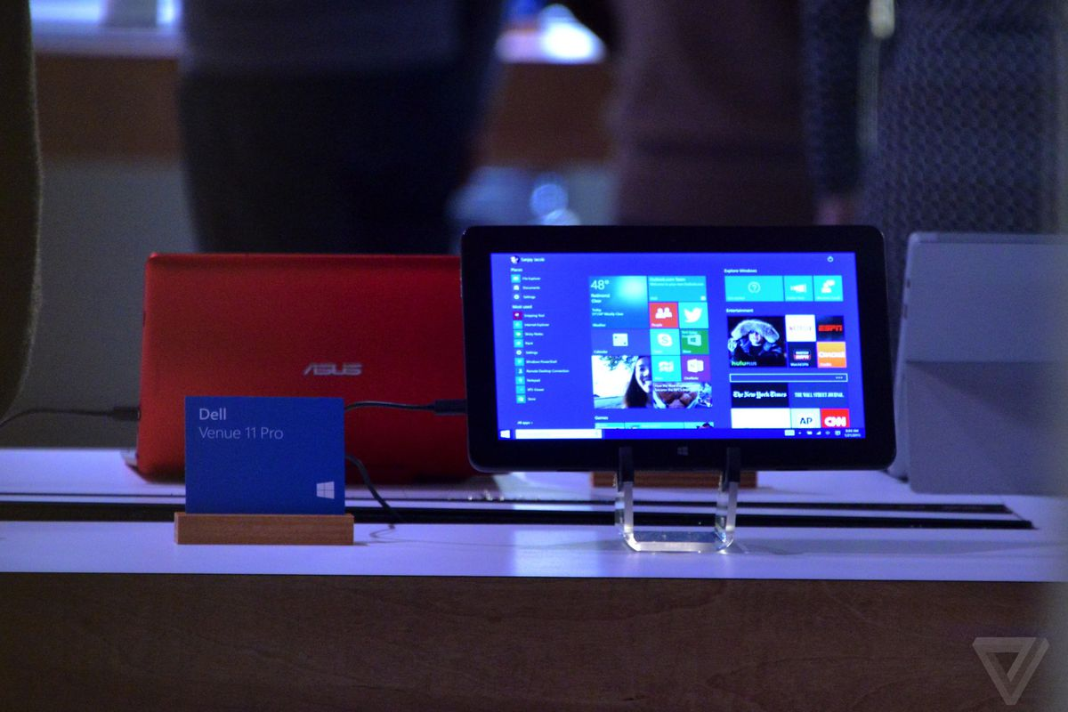 This is Windows 10 on tablets - The Verge