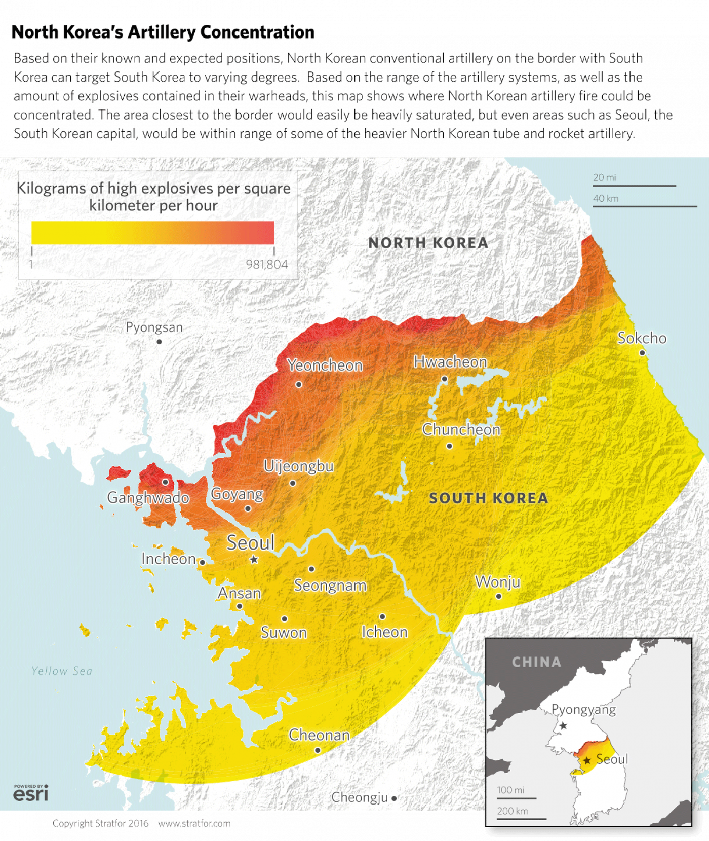 Image of: 40 Maps That Explain North Korea Vox