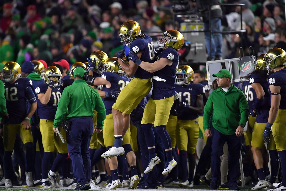 Notre Dame Football Power Rankings: Cheeseburgers, Stats, and stuff