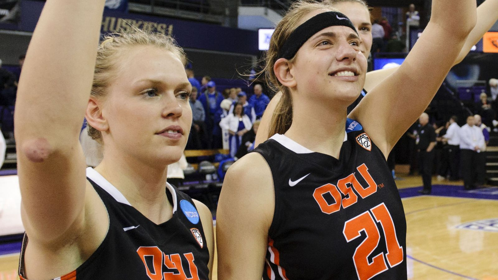 Interview: Oregon State's Jamie Weisner and Sydney Wiese discuss the 2014 NCAA Tournament ...