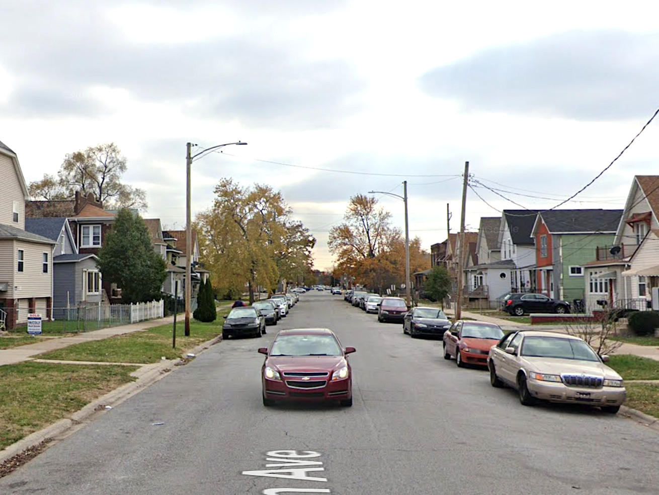 Police say a girl was hurt by stray gunfire Oct. 22, 2020, in 4500 block of Magoun Avenue in East Chicago, Indiana.