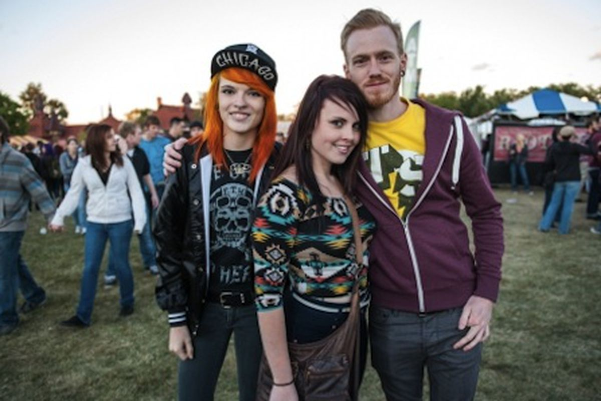 """Photo: <a href=""""http://www.timeoutchicago.com/music-nightlife/16419946/riot-fest-2013-saturday-faces-in-the-crowd"""">via</a> Time Out Chicago"""