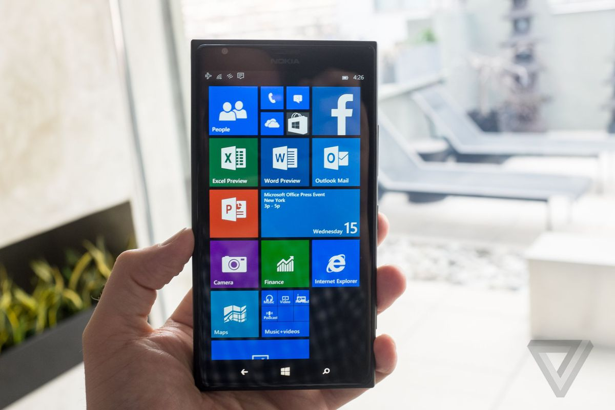 Microsoft's Latest Windows 10 Mobile Preview Adds Office
