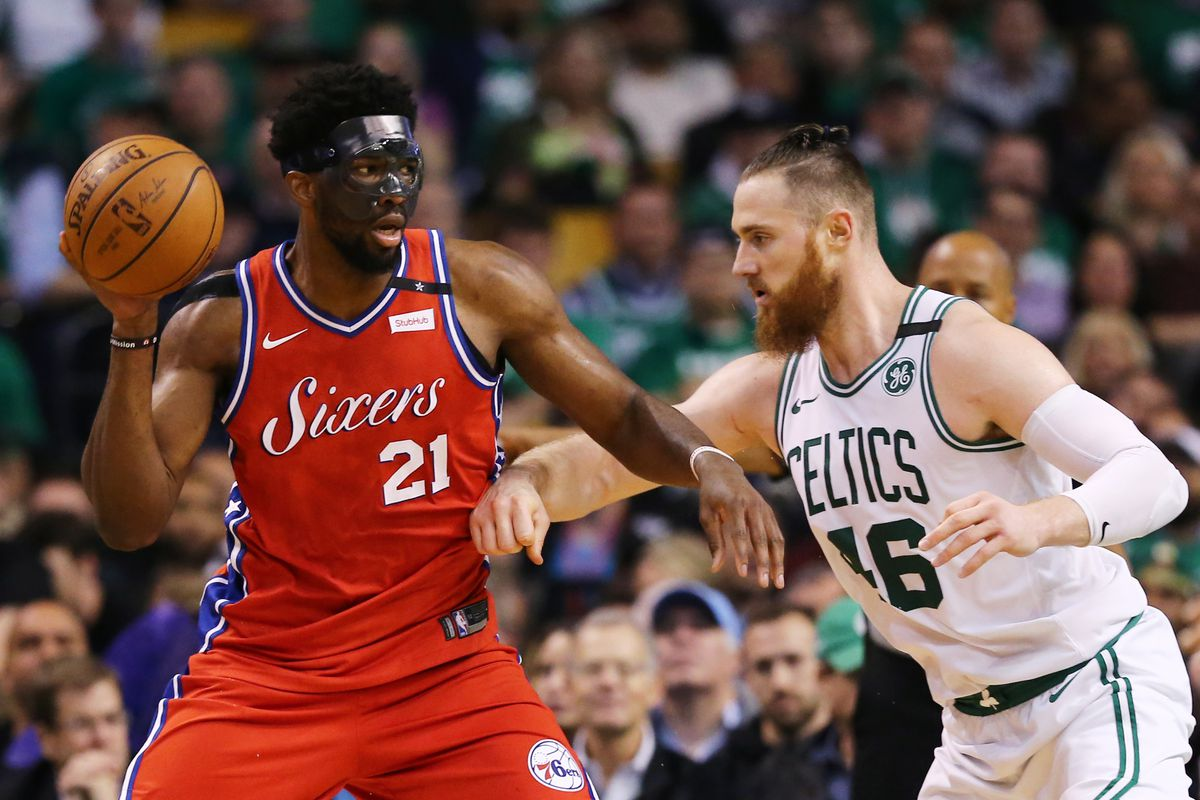 7a2794587 The Celtics host the Philadelphia 76ers in Game 2 of the Conference  Semifinals