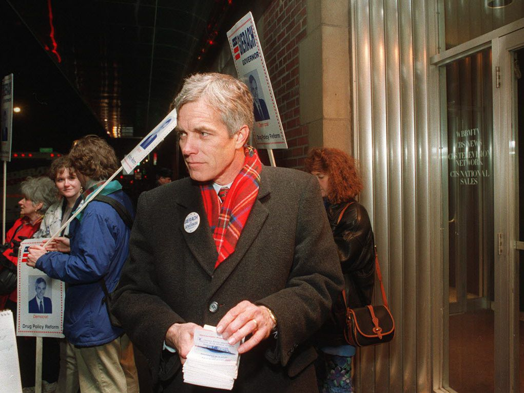James Gierach in 1994. File Photo. Ellen Domke/Sun-Times