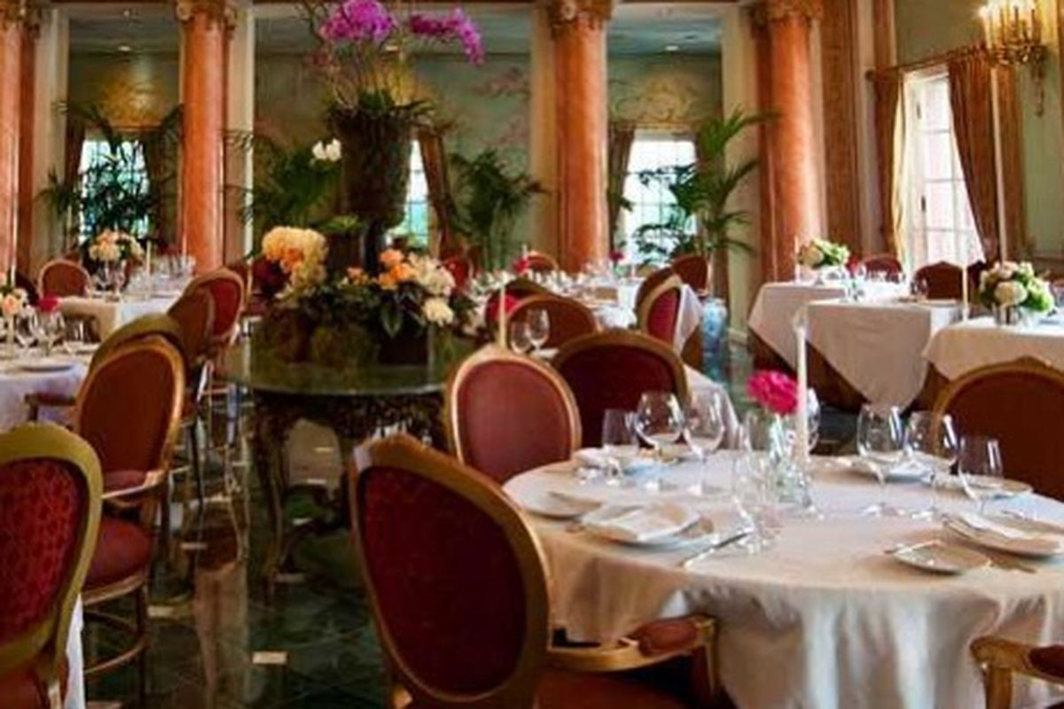 The French Room at the Adolphus.