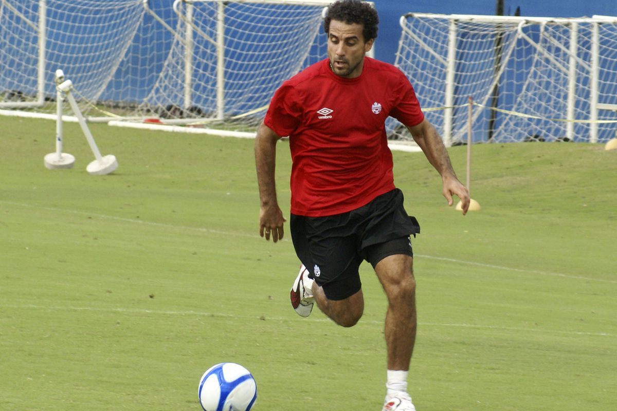 Dwayne De Rosario is one of the Canadians with something to play for even if the team has nothing. (Canadian Soccer Association)