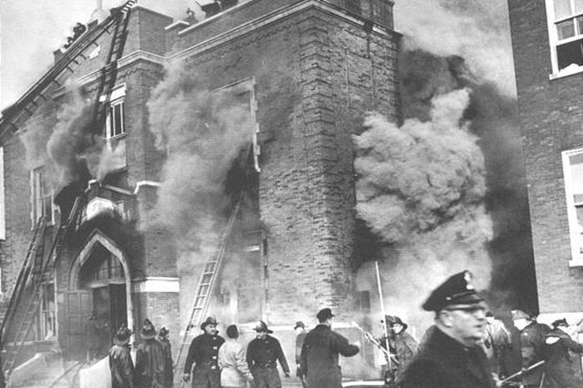Image result for deadly school fire on this day in 1958