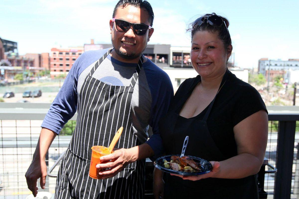 Chefs Vinnie Sosa and Dana Rodriguez