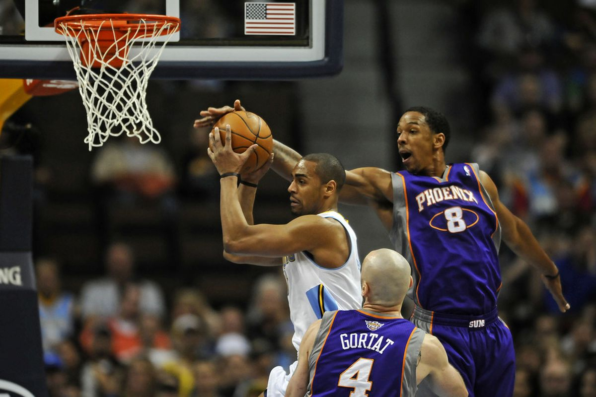 Afflalo carried the Nuggets tonight, but 'Dre came up huge.