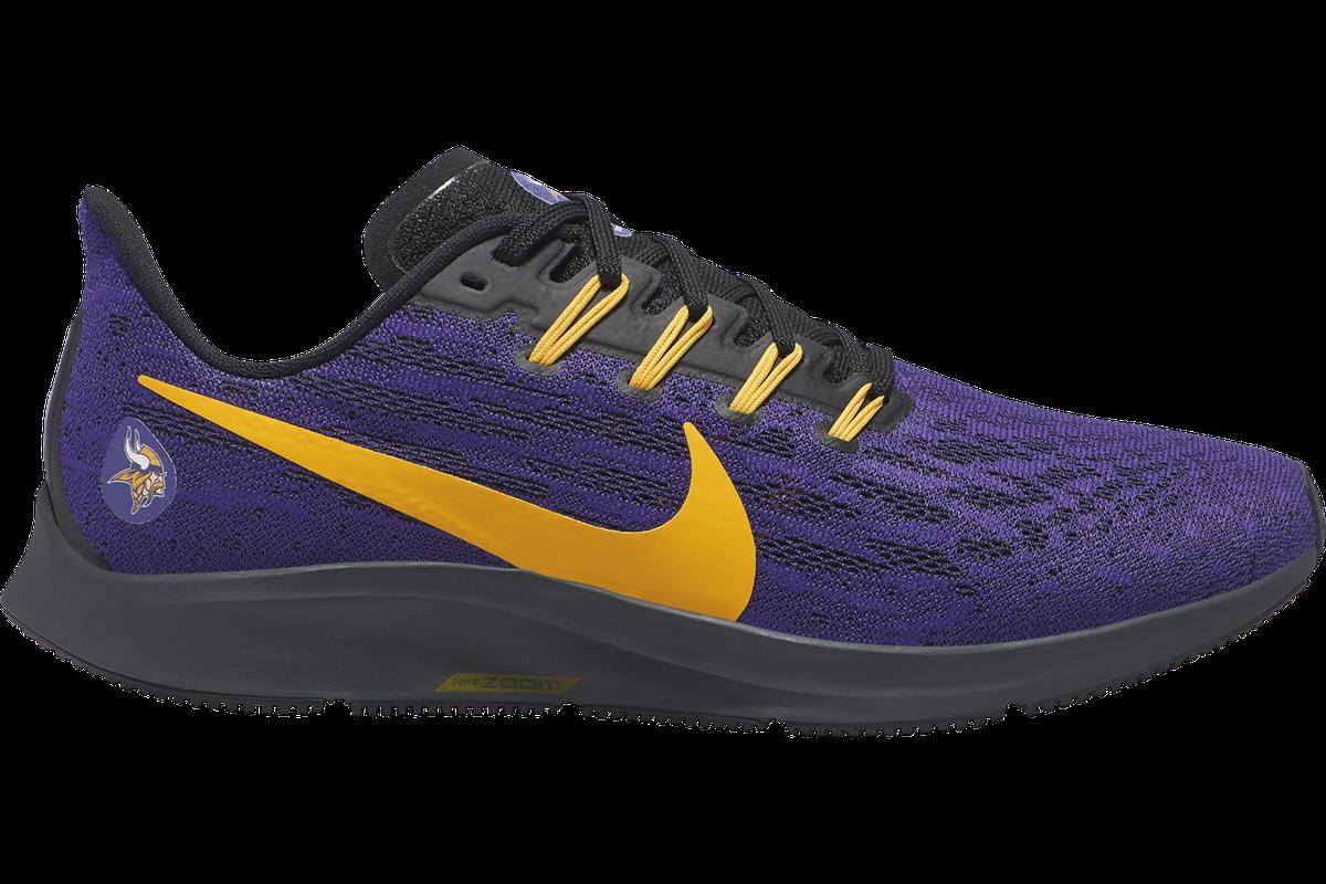 chaussures de sport 06efc de3f5 Nike drops the new Air Zoom Pegasus 36 Minnesota Vikings ...