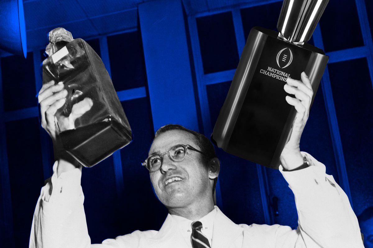Jonas Salk, illustration by Banner Society.