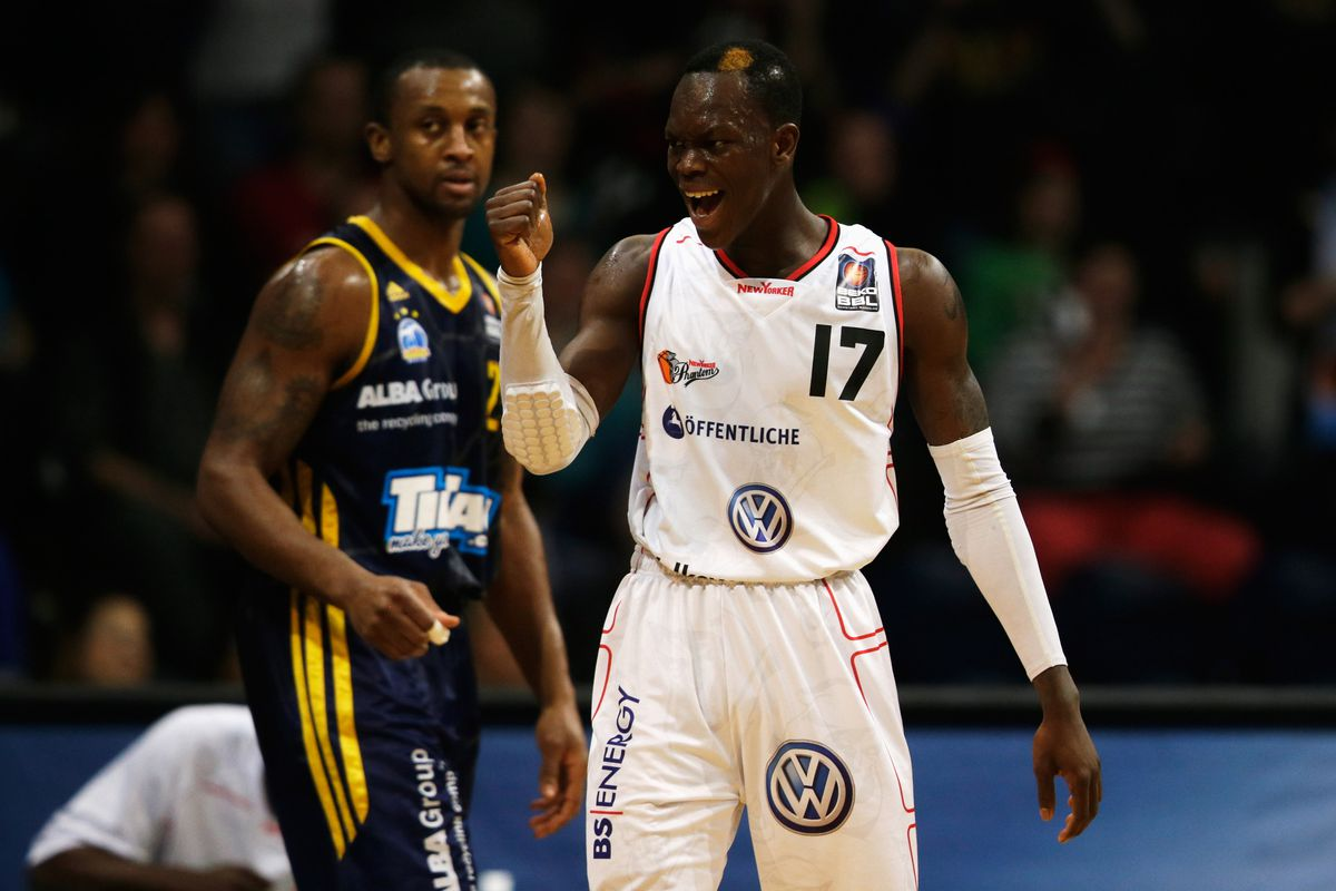 Will Dennis Schroeder be crowned the tournament's champion?