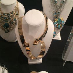 Sculptural necklace, $500