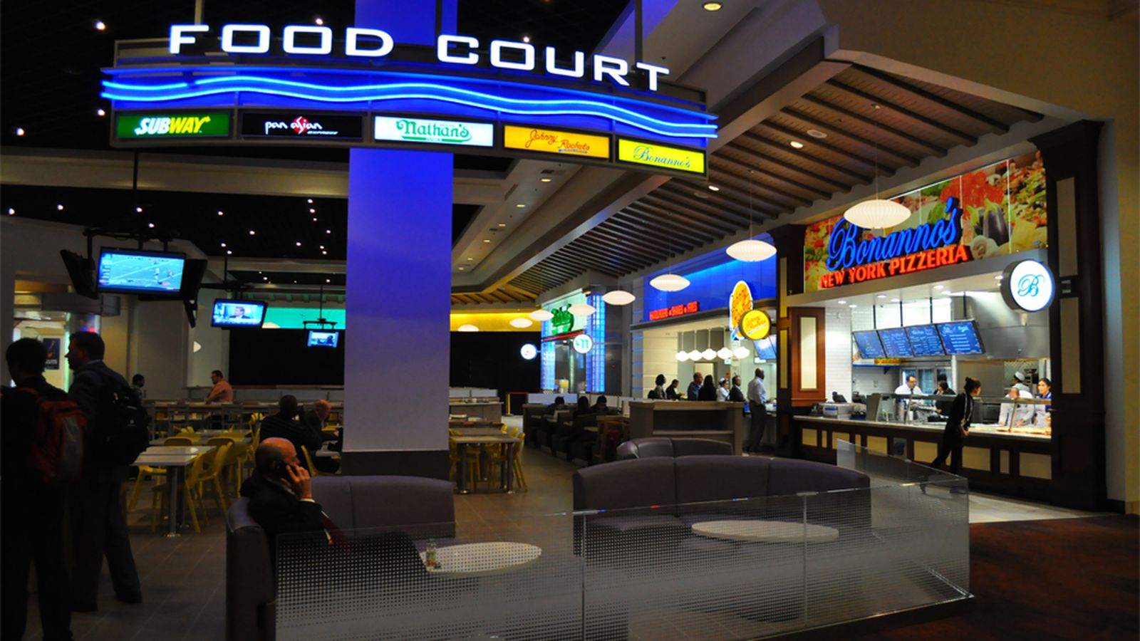 Dallas Convention Center Food Court