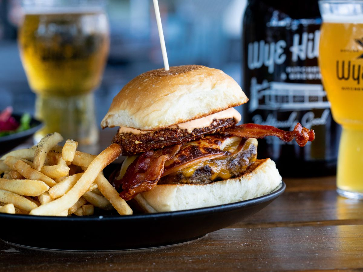 The Wye Hill Burger