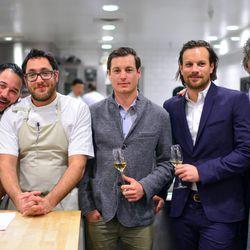 Carlo Mirarchi, Chris Kostow, Adam Mariani, Andrew Mariani, Richard Reddington