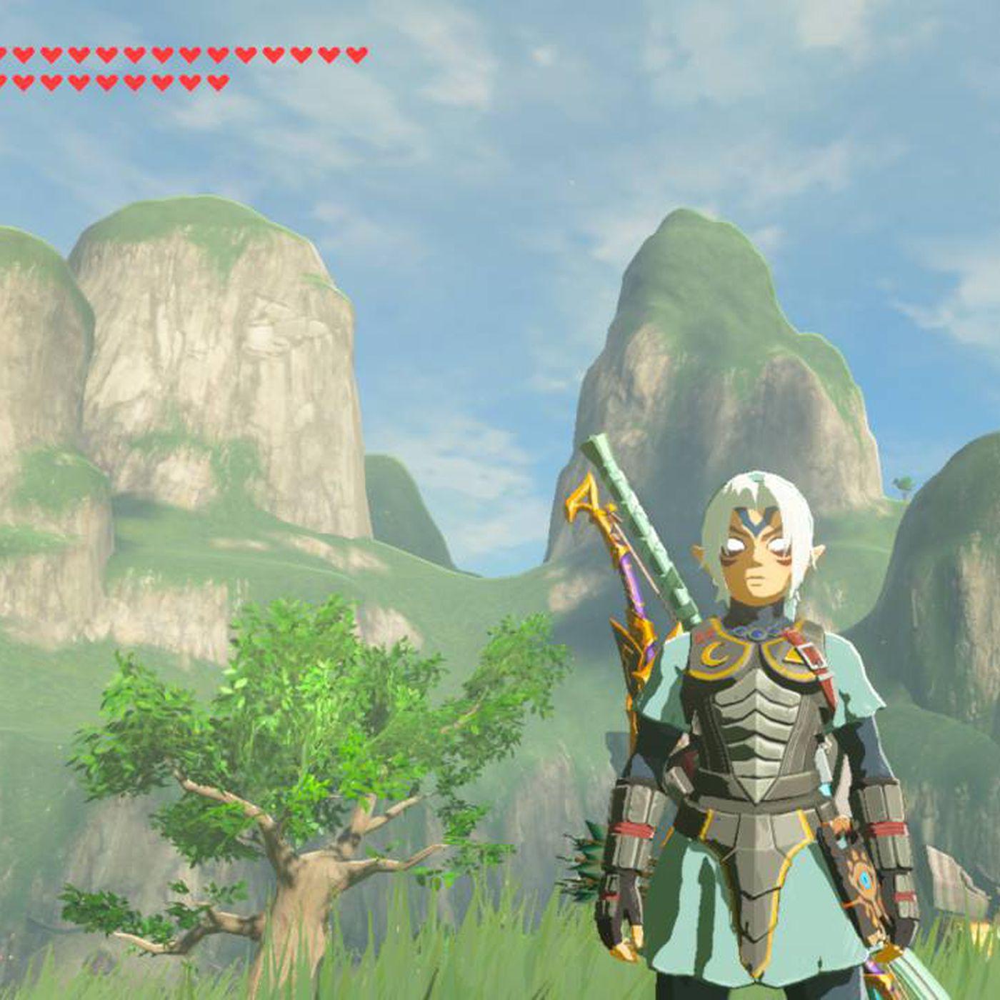 Nintendo's new Zelda amiibo explains Breath of the Wild's