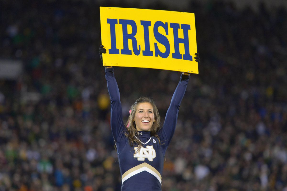 Go Irish. Beat everyone (and everything - including mid-terms).