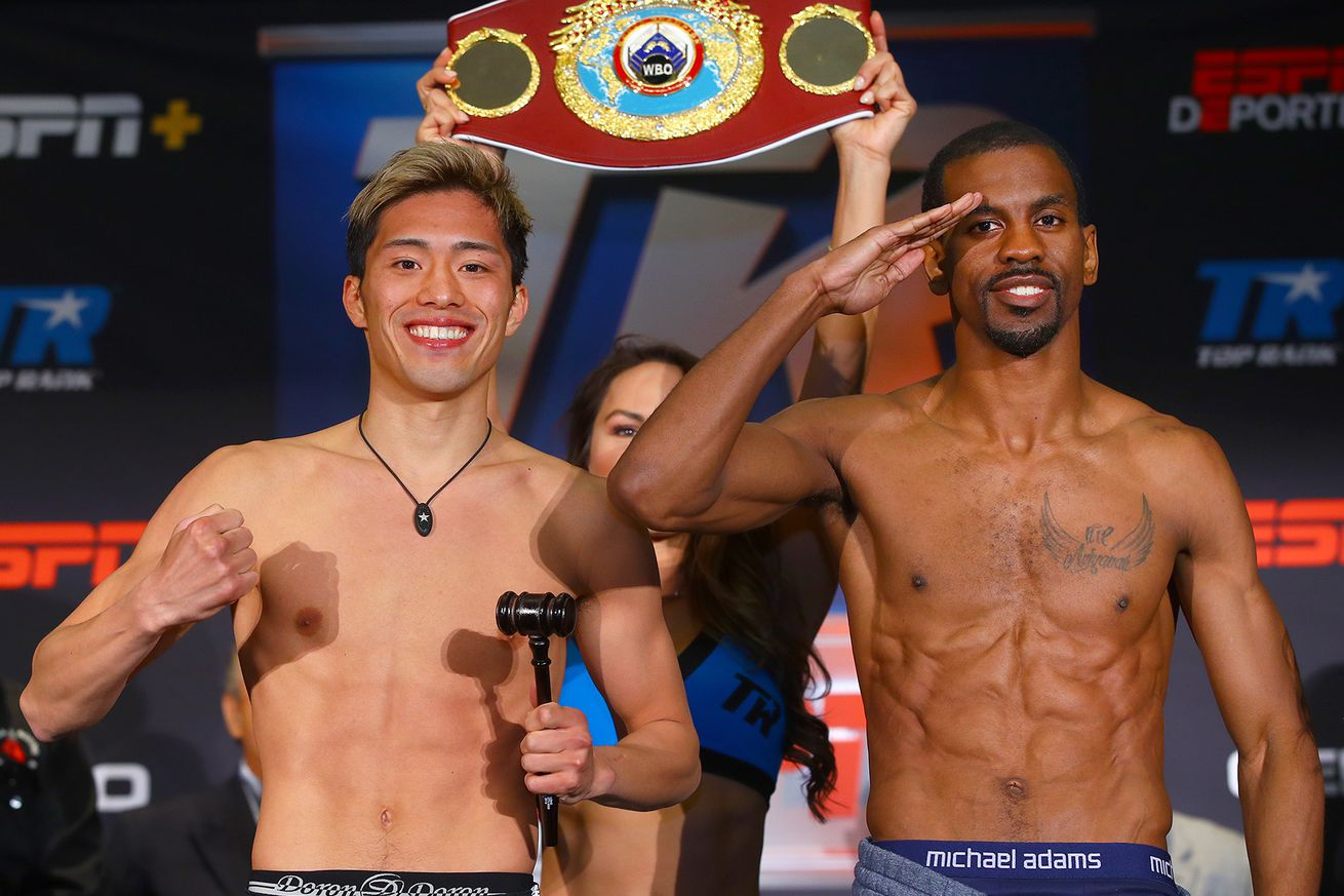 Masayuki Ito vs Jamel Herring pose2.0 - How to watch Ito vs Herring