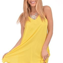 "Yellow semi sheer tank dress, <a href=""http://shopblush.com/shop/clothes/BLB01598-yellow-semi-sheer-tank-dress#.Uzzx8q1dVi4"">$48</a>"
