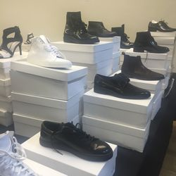 Sneakers, $125, and shoes, $150